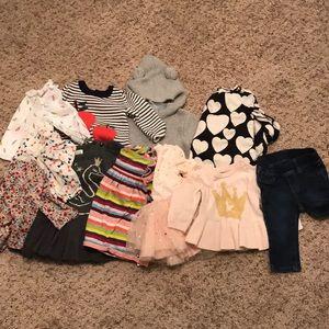 Baby Gap girls clothing lot 3-6 months